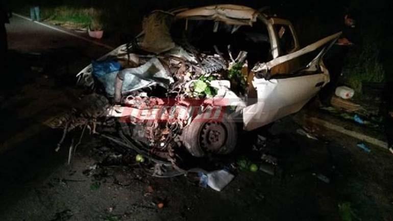 Αχαΐα: Ένας νεκρός και τρεις τραυματίες σε τροχαίο