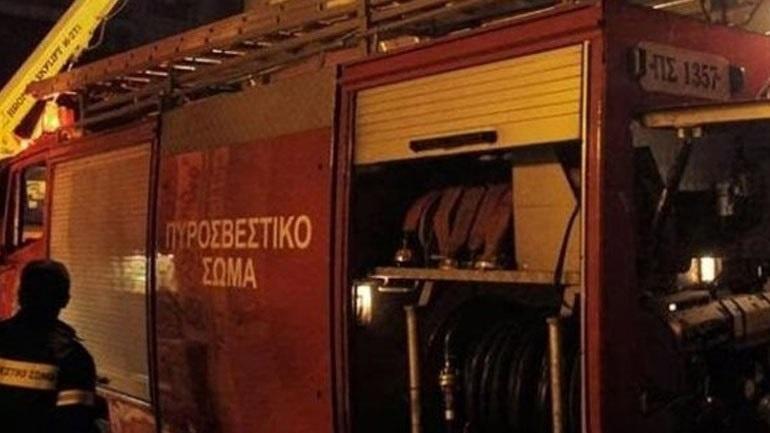 Ένας νεκρός από πυρκαγιά σε παράγκα στον Ορχομενό