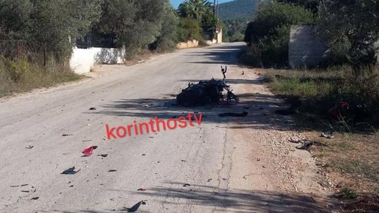 Κόρινθος: Νεκρός 34χρονος μοτοσικλετιστής σε τροχαίο