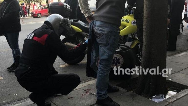 Θεσσαλονίκη: Τον μαχαίρωσε εν μέση οδώ για ένα κινητό